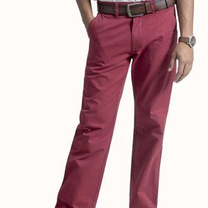 MEN'S CHINO PANTS – FLAT FRONT – STRAIGHT POCKET